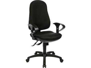 TOPSTAR Bürostuhl »Support SY«, schwarz, schwarz