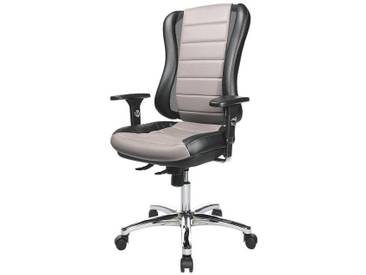 TOPSTAR Bürostuhl ohne Armlehnen »Headpoint RS Deluxe«, schwarz/grau