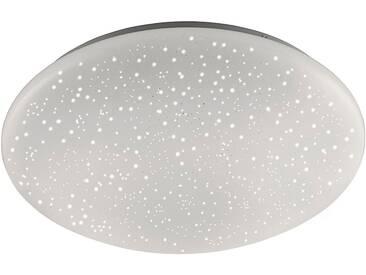 Leuchten Direkt LED Deckenleuchte »SKYLER«, Kunststoffschirm, weiß, Ø39 cm, weiß