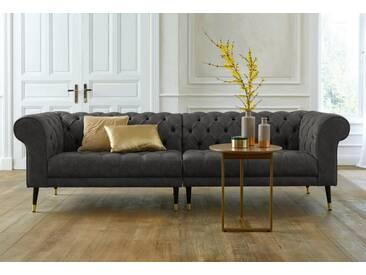 Guido Maria Kretschmer Home&Living GMK Home & Living Chesterfield Big-Sofa »Tinnum«, grau, anthrazit