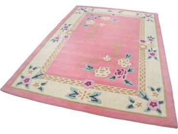 THEKO Teppich »Lifou«, rechteckig, Höhe 14 mm, rosa, 14 mm, rosa