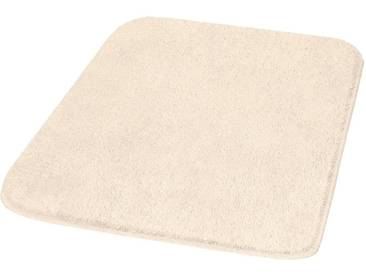MEUSCH Badematte »Mona« , Höhe 30 mm, rutschhemmend beschichtet, fußbodenheizungsgeeignet, natur, 30 mm, sand-beige