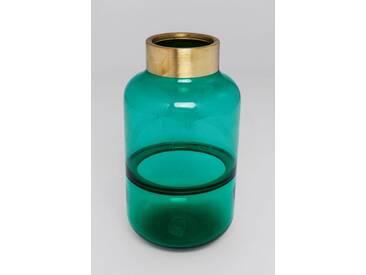 KARE Design Vase »Positano Belly«, grün, Maße (H/Ø): 28/16 cm, grün