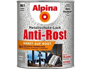 Alpina ALPINA Metallschutzlack »Anti-Rost - Eisenglimmer Dunkelgrau«, 3in1, 750 ml, grau, grau