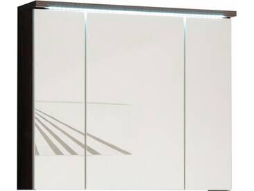 welltime Spiegelschrank »Pool« mit LED Beleuchtung, natur, ulmefb.