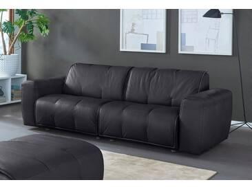 NATUZZI EDITIONS 2-Sitzer Ledersofa »Alessio« in zwei Lederqualitäten, schwarz, black
