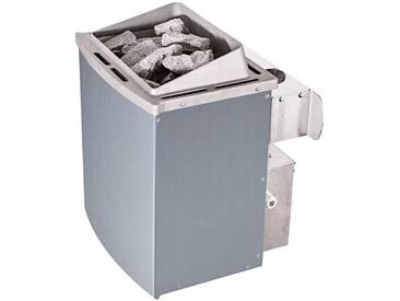 Karibu KARIBU Saunaofen »9 kW mit interner Steuerung«, silberfarben, silberfarben