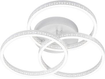 TRIO Leuchten LED Deckenleuchte »Lincoln«, 3-flammig, Switch Dimmer