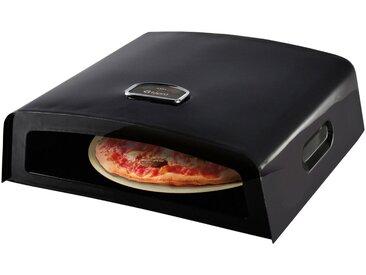 Tepro TEPRO Pizzaofen, Aufsatz für Holz- und Gasgrill, schwarz, schwarz