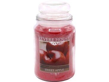 Candle-lite™ Duftkerze »Revere House - Sweet Apple«, rot, rot