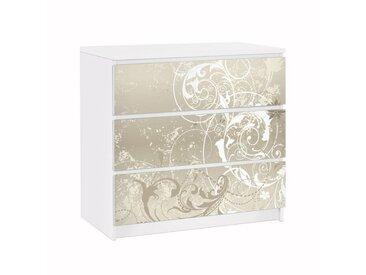 Bilderwelten Möbelfolie für IKEA Malm Kommode »Perlmutt Ornament«, bunt, Farbig