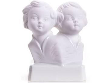 Wagner & Apel Porzellan Wagner & Apel Sternzeichen-Figur »Zwillinge« aus Porzellan, weiß, Sternzeichen Zwillinge, weiß