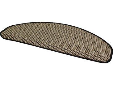 Dekowe Stufenmatte »Brasil«, stufenförmig, Höhe 10 mm, Sisal, natur, 10 mm, natur-schwarz