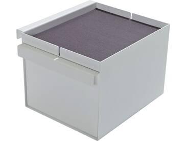 Müller Ablagekasten Add-On Element 5, passend für die Betten »FLAI« und »PLANE« als zu, weiß, weiß