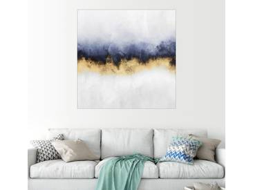 Posterlounge Wandbild - Elisabeth Fredriksson »Sky«, weiß, Poster, 70 x 70 cm, weiß