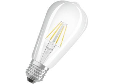 Osram LED Retrofit CLASSIC ST Lampe, LED-Lampe »LEDISON CLAS ST 40 4 W/827 E27 FIL«, weiß, weiss