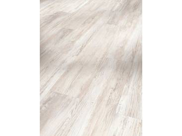 PARADOR Vinyllaminat »Basic, Pinie skandinavisch weiß«, weiß, 1 Paket (2,38 m²), weiß