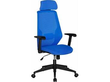 Amstyle Chefsessel »NetStar«, blau, blau