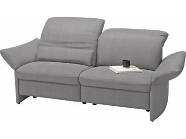 Gallery M GALLERY M 2-Sitzer Sofa »Viviana« wahlweise mit motorischer Relaxfunktion, silberfarben, ohne Relaxfunktion, platin VALMONT