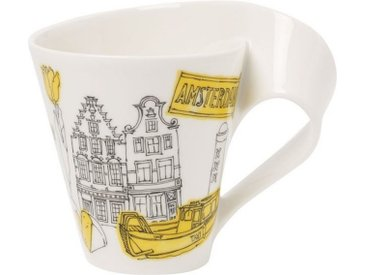 Villeroy & Boch Kaffeebecher Amsterdam »Cities of the World«, gelb, 300,00 ml, gelb