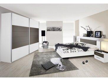 rauch Schlafzimmer-Set »Barcelona«, grau, weiß/lavagrau