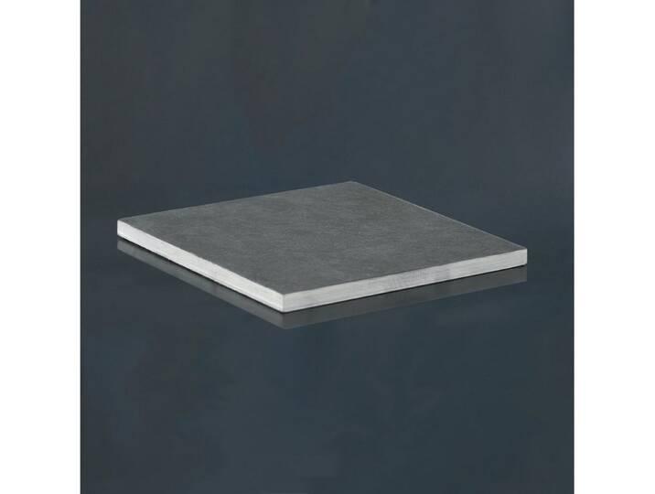 Amabiente Schieferplatte für Kerzen Grau