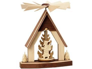 SAICO Original Heizungspyramide Weihnachtsmann