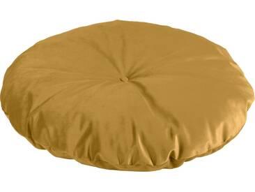 Max Winzer® Bodenkissen unifarben, in 2 Größen, gelb, ø 105 cm, mais