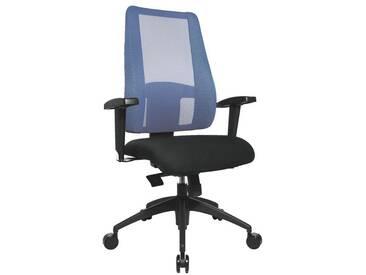 TOPSTAR Bürostuhl ohne Armlehnen »Lady Sitness Deluxe«, blau, blau