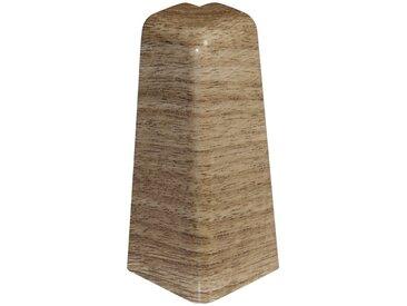 EGGER Außenecke »Nußbaum hellbraun«, Außeneck-Element für 6 cm Sockelleiste, 2 Stk, braun, braun