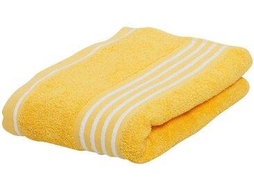 Gözze Handtücher »Rio«, mit frischer Streifenbordüre, gelb, gelb