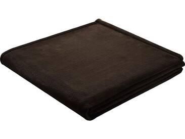 BIEDERLACK Wohndecke »King Fleece«, leichte Qualität, braun, Kunstfaser, dunkelbraun