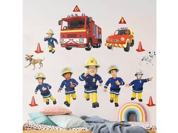 Bilderwelten Wandtattoo »Feuerwehrmann Sam - Helden«, bunt, Farbig