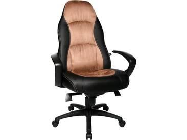 TOPSTAR Topstar Chefsessel »Speed Chair«, schwarz / braun