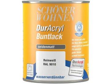 SCHÖNER WOHNEN-Kollektion Schöner Wohnen Farbe Buntlack »DurAcryl seidenmatt, 750 ml reinweiß«, weiß, weiß