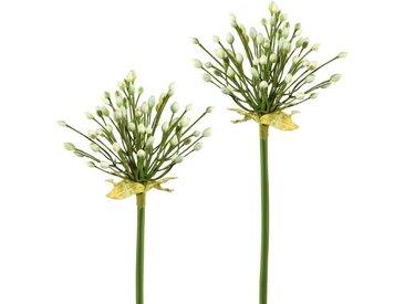 Kunstblume, Höhe 70 cm (2er Set), weiß, weiß
