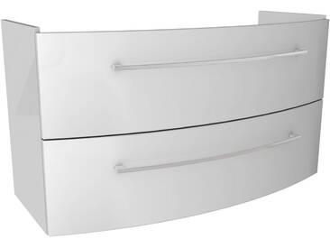 FACKELMANN Waschtischunterbau »Lino«, Breite 106,5 cm, weiß, weiß