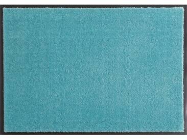 HANSE Home Fußmatte »Deko Soft«, rechteckig, Höhe 7 mm, saugfähig, waschbar, grün, 7 mm, mint