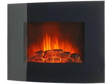 Elektrisches Kaminfeuer »Örebo«, 1800 W, B/T/H: 66x15x52 cm, mit Fernbedienung, schwarz, schwarz