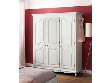 Premium collection by Home affaire Premium by Home affaire Kleiderschrank »Katarina« in 3 verschiedenen, Breiten, natur, 3 trg., 164 cm breit, creme
