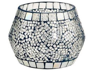 BUTLERS PALACIO »Mosaik Windlicht 7 cm«, Ø 10 cm, Höhe 7 cm