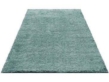 Bruno Banani Hochflor-Teppich »Shaggy Soft«, rechteckig, Höhe 30 mm, grün, evergreen