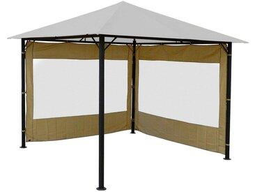 Quick Star QUICK STAR Seitenteile für Pavillon »Nizza«, für 300x300 cm, 2 Stk., natur, für 3 x 3 m Pavillon, natur