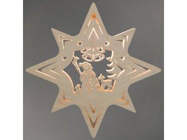 Weigla LED Fensterbild »Schneemann«, 1-flammig, Fensterbild
