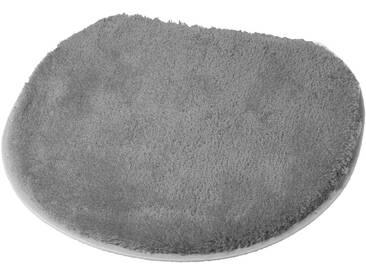 Kleine Wolke Badematte »Soft« , Höhe 20 mm, rutschhemmend beschichtet, grau, 20 mm, silberfarben-grau