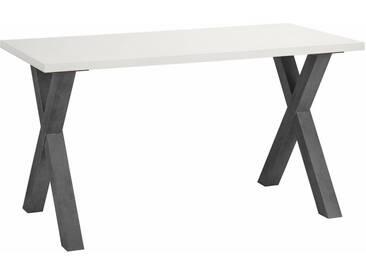 Mäusbacher Schreibtisch »Mio« in verschiedenen Farben, weiß, graphit/weiß matt