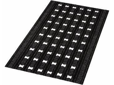 HANSE Home Fußmatte »Optimo«, rechteckig, Höhe 7 mm, schwarz, 7 mm, schwarz