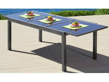 MERXX Gartentisch »Amalfi«, Aluminium, ausziehbar, grau, 180/240 cm x 100 cm, anthrazit