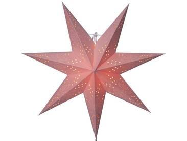 STAR Star Papierstern zum Hängen, mit Kabel »Metasol«, rosa, Breite x Tiefe x Höhe in cm : 54 x 16 x 54, Pink