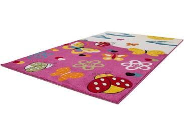 LALEE Kinderteppich »Amigo 314«, rechteckig, Höhe 15 mm, rosa, 15 mm, pink